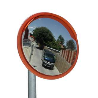 450mm Outdoor Stainless Steel Traffic Mirror
