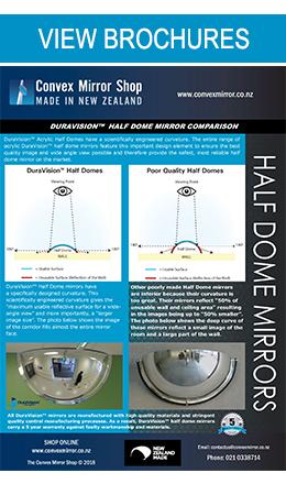 DuraVision Half Dome Mirrors Brochure
