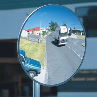 900mm Outdoor Heavy Duty Acrylic Convex Mirror