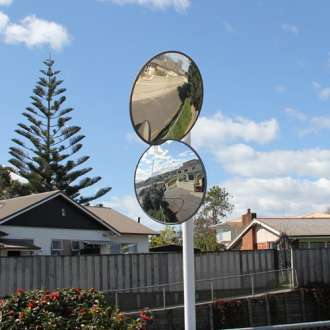 600mm Outdoor Heavy Duty Acrylic Convex Mirror