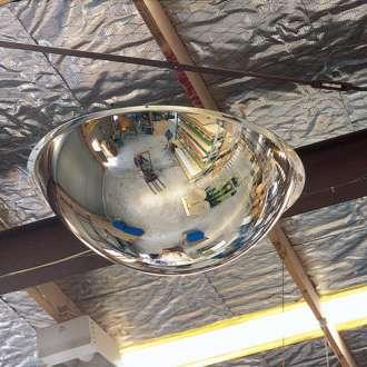 600mm Indoor Acrylic Dome Mirror