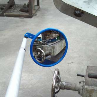 230mm Short Lightweight Inspection Mirror