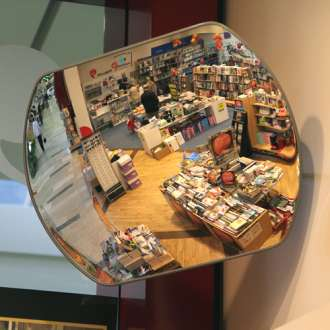 800x600mm Indoor Space Saver Convex Mirror