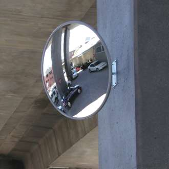 760mm Outdoor Heavy Duty Acrylic Convex Mirror