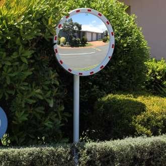 1000mm Round Pro Series Traffic Mirror
