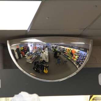 600mm Indoor Half Dome Mirror