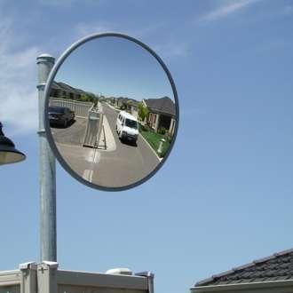 900mm Outdoor Heavy Duty Acrylic Convex Mirror