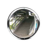 500mm Stainless Steel Wall Dome Mirror