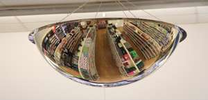 Indoor Acrylic Dome Mirrors
