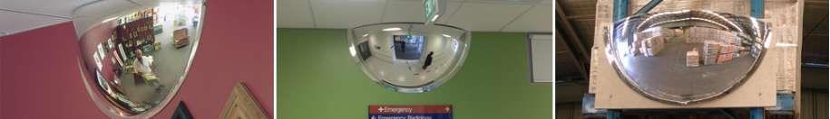 Indoor Half Dome Mirrors