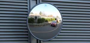Outdoor Heavy Duty Acrylic Convex Mirrors