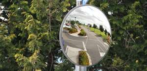 Outdoor Heavy Duty Stainless Steel Mirrors