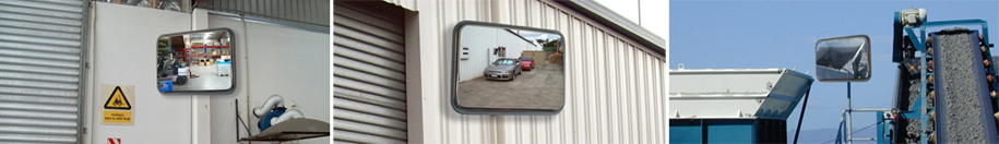 Rectangular Stainless Steel Heavy Duty Mirrors