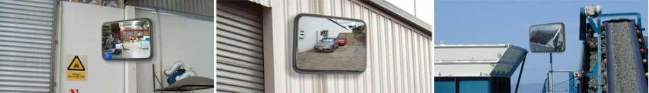Rectangular Stainless Steel Heavy Duty Mirrors