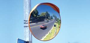 Outdoor Acrylic Traffic Safety Convex Mirrors
