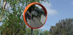 Outdoor Stainless Steel Traffic Safety Convex Mirrors