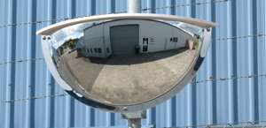 Outdoor Two-Way Half Dome Mirrors