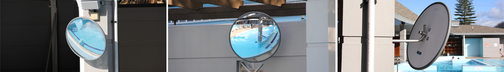 Swimming Pool Observation Mirrors