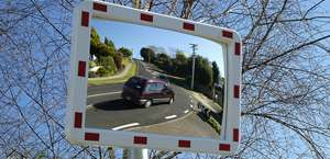 Rectangular Pro Series Traffic Safety Mirrors