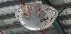 Stainless Steel Dome Mirrors