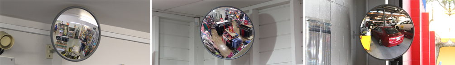 Indoor Standard Acrylic Convex Mirrors