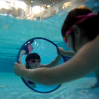 400mm Learn To Swim Mirror