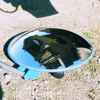 450mm Vehicle Look-Under Mirror